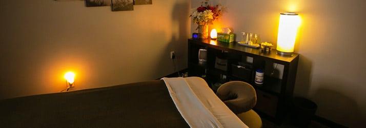 Chiropractic Hillsboro OR Massage Room